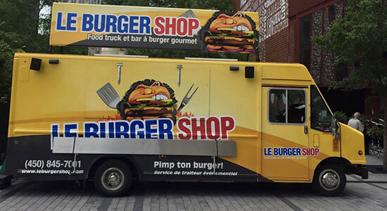 Foodtruck Le Burger Shop, bar à burger gourmet