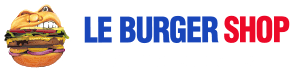 Restaurant the Burger Shop, gourmet burger-bar logo